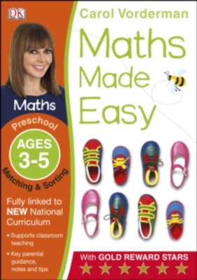 Maths Made Easy Matching and Sorting Ages 3-5 Preschool