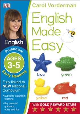 English Made Easy Early Reading Ages 3-5 Preschool