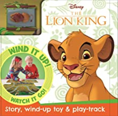 The Lion King : story, wind-up toy & play-track